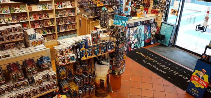 Forbidden Planet International Belfast is a collectors haven!