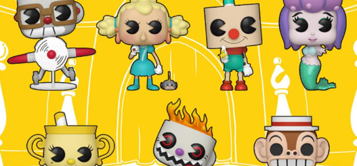 Funko Coming Soon: Cuphead Plush, Vynl., & Pop!