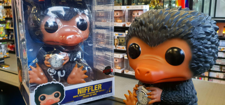 Funko Crimes of Grindelwald 10″ Niffler Pop! Vinyl available now!