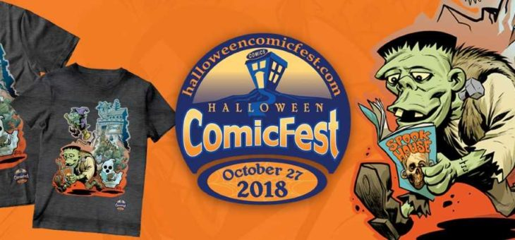 FREE Comics @ Halloween ComicFest Oct 27th 2018