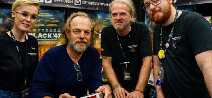 Hugo Weaving's Visit to our Dublin Store