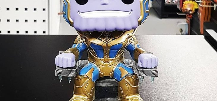 Funko Pop! Vinyl Thanos with Throne