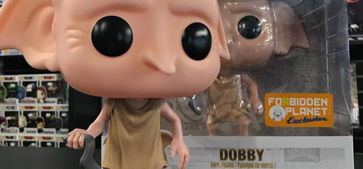 Harry Potter 10″ Dobby Pop! Vinyl Forbidden Planet International Exclusive