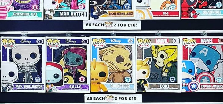 Funko Pop! Tees £6 Each or Two For £10
