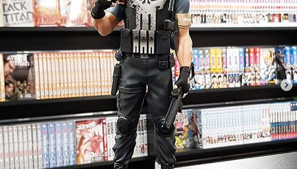 Marvel Collectors Gallery Punisher Statue