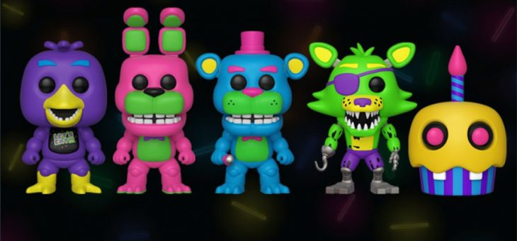 Funko Coming Soon: Five Nights at Freddy's™ Black Light!