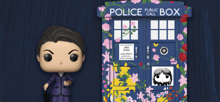 Funko Coming Soon: Doctor Who Pop! Missy and floral TARDIS