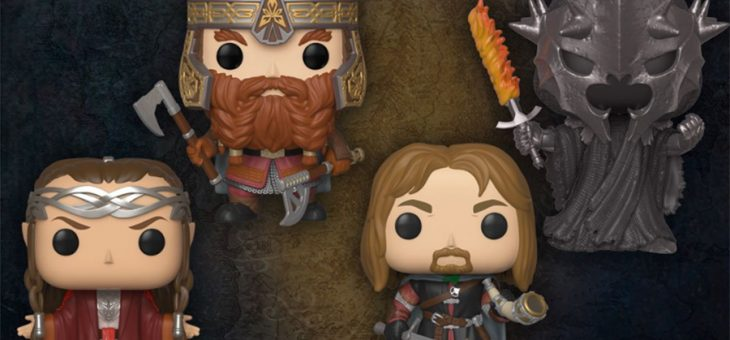 Funko Coming Soon: Lord of the Rings Keychains & Pop!