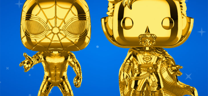 Funko Coming Soon: Marvel Studios 10 New Chrome Pop!
