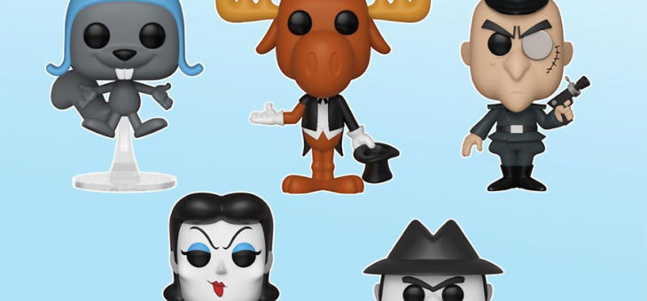 Funko Coming Soon: Rocky & Bullwinkle, Woody Woodpecker, & Chilly Willy Pop!
