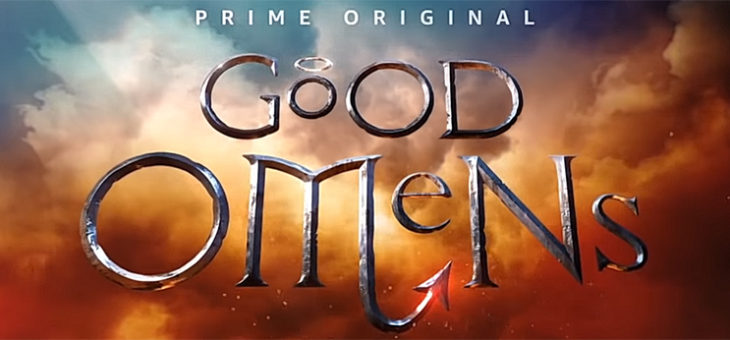 GOOD OMENS Official Trailer David Tennant!