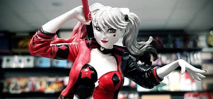 Harley Quinn Statue in stock!