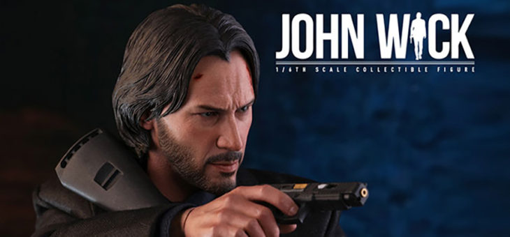 John Wick Sixth Scale Figure by Hot Toys John Wick: Chapter 2 – Movie Masterpiece Series