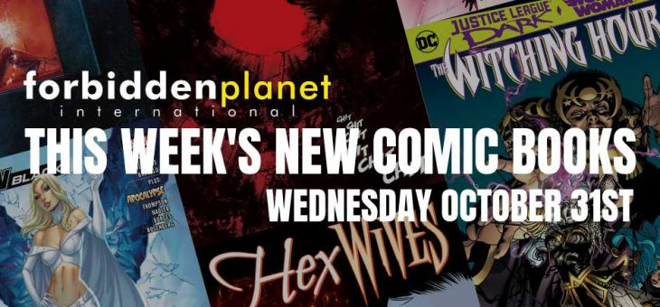 New Comic Book Day Wednesday 31st October 2018