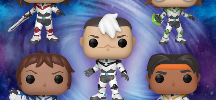 Funko Coming Soon: Voltron Pop!