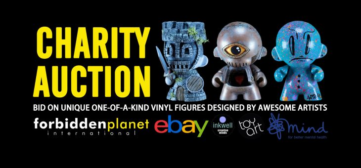 Inkwell Arts – Toy Art – Forbidden Planet International CHARITY AUCTION