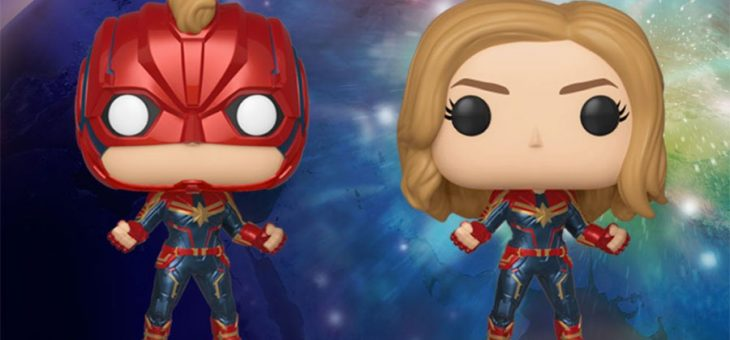 Funko Coming Soon: Captain Marvel!