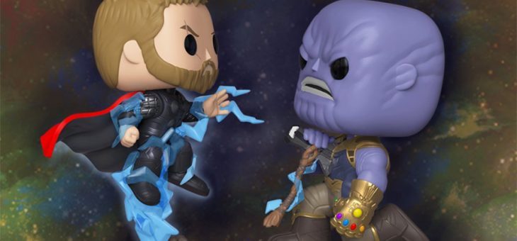 Funko Coming Soon: Thor vs. Thanos Marvel Movie Moment