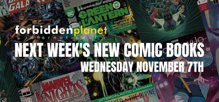 New Comic Book Day Wednesday November 7th 2018