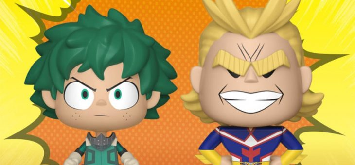 Funko Coming Soon: My Hero Academia Vynl.!