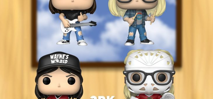 Funko Coming Soon: Wayne's World Pop! Party Time! Excellent!