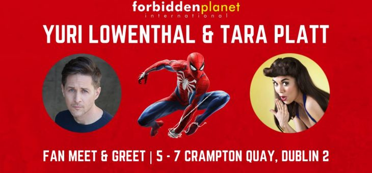 Marvel's Spider-Man PS4 Voice Actors Yuri Lowenthal & Tara Platt Meet & Greet