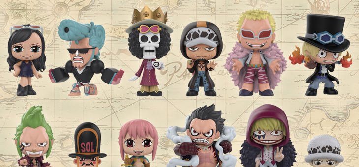 Funko Available now: One Piece Mystery Minis!