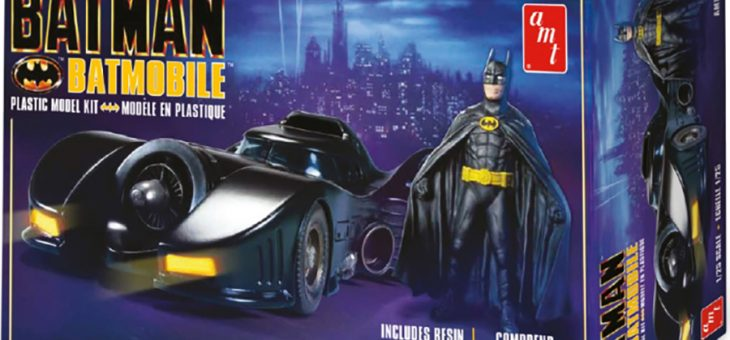 1:25 1989 Batmobile With Resin Batman Figure
