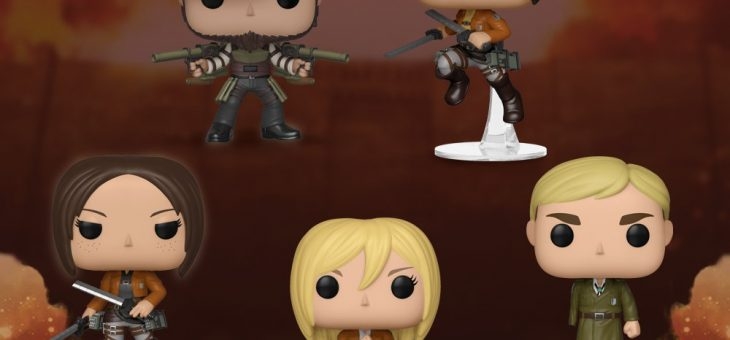 Funko Coming Soon: Attack on Titan Pop!