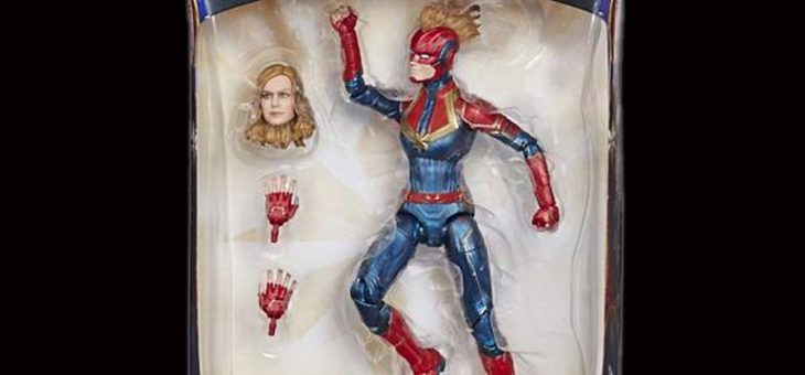 Captain Marvel: Marvel Legends Action Figures