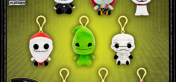 Funko Nightmare Before Christmas Plush Mystery Minis!