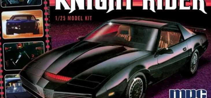 1:25 K.I.T.T. 1982 Pontiac Firebird from Knight Rider