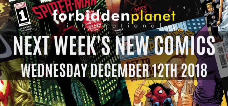 New Comic Book Day Wed 12th December 2018
