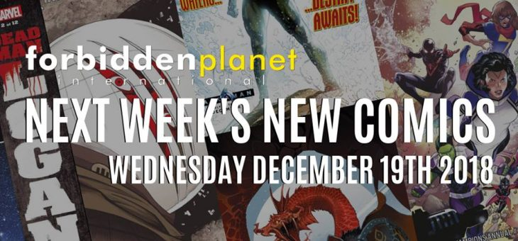 New Comic Book Day Wed 19th December 2018