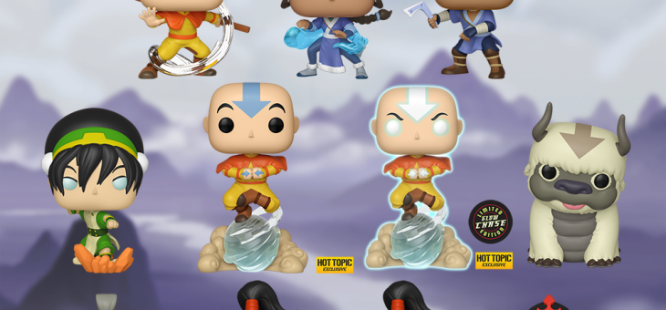 Funko Coming Soon: Avatar: The Last Airbender Pop!