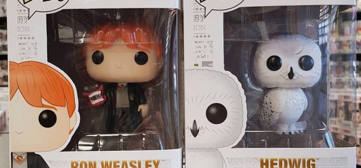 New Harry Potter Pop! Vinyls are in stores now!