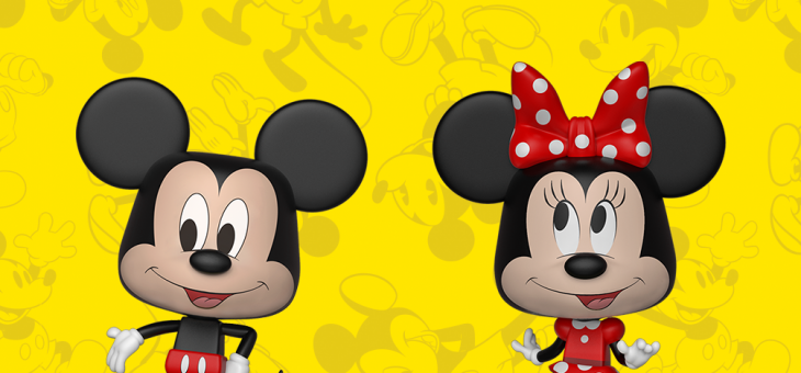 Coming Soon: Mickey Mouse & Minnie Mouse Vynl.!