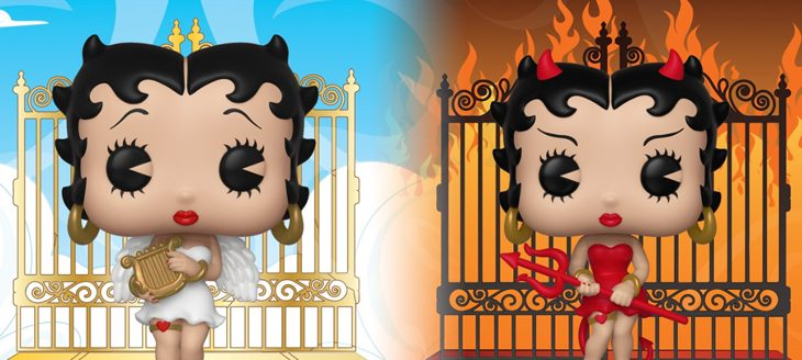Funko Betty Boop Angel & Devil Pop!