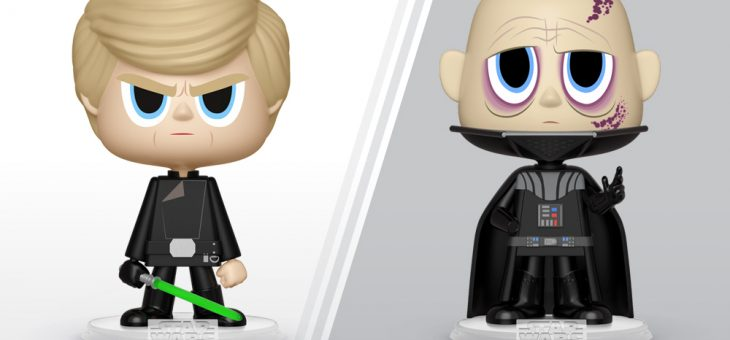 Luke Skywalker™ and Darth Vader™ Vynl.!