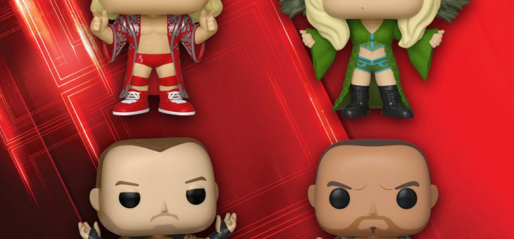Funko New Pop! WWE!