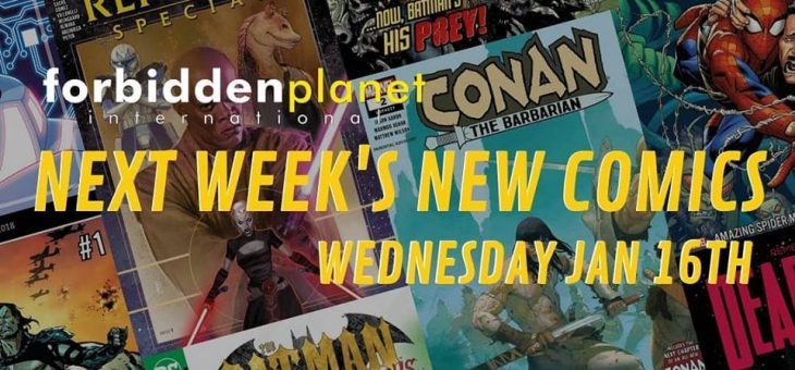 Here is this week's new comic releases! Jan 16th 2019
