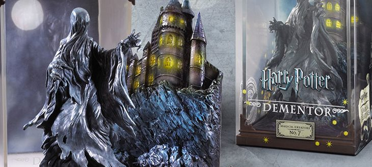 Harry Potter & Fantastic Beasts Magical Creatures in display cases