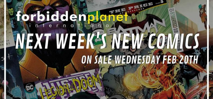 New Comic Book Day Wednesday Feb 20th 2019