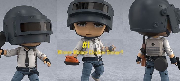 Playerunknown's Battlegrounds (PUBG) Nendoroid Action Figure The Lone Survivor 10cm
