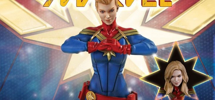 Captain Marvel Bust Captain Marvel 20cm