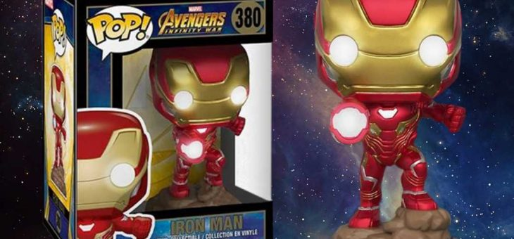 Funko Pop! Avengers Infinity War Light-Up Iron Man