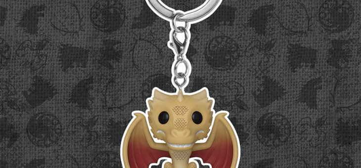 Funko Game of Thrones Viserion Pop! Keychain!