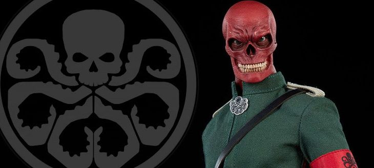 Sideshow Collectibles Marvel Action Figure 1/6 Red Skull 30cm
