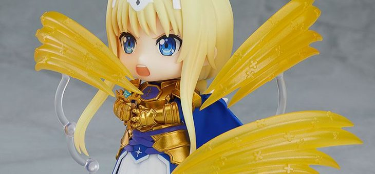 Sword Art Online Alicization Nendoroid PVC Action Figure Alice Synthesis Thirty 10cm