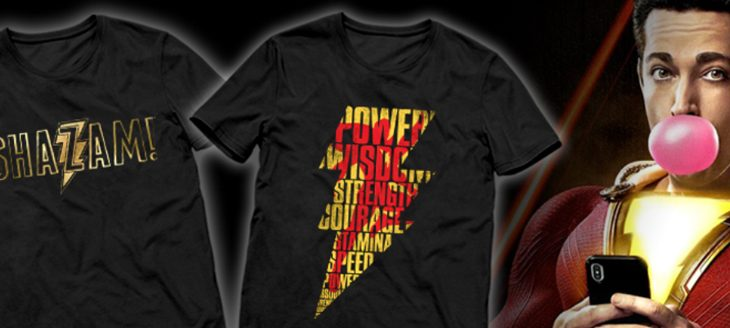 Shazam Movie – T-Shirts
